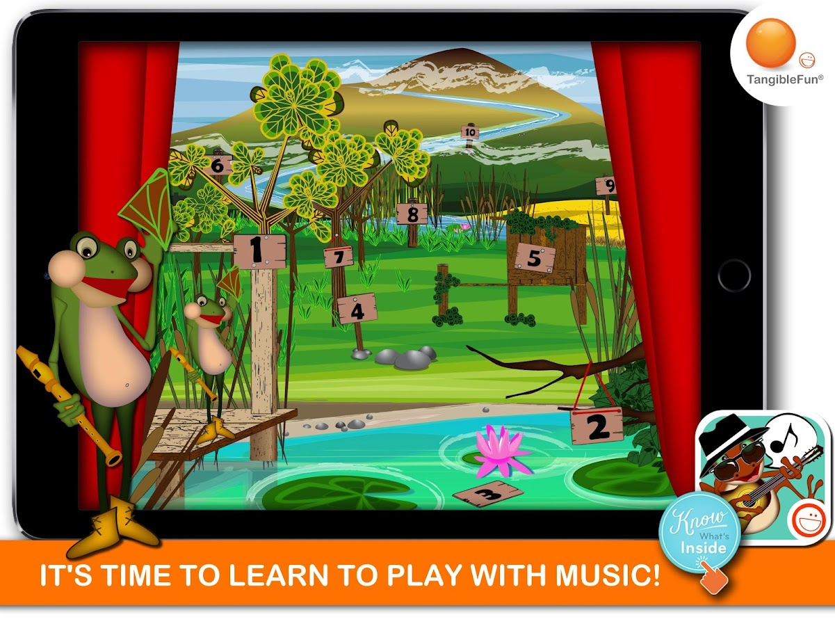 Music Games: The Froggy Bands- screenshot