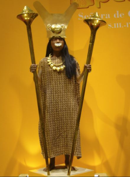 The Lady of Cao was discovered in 2006 by a team of Peruvian archaeologists.