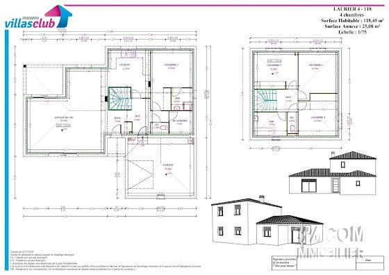 Vente maison 5 pièces 118,49 m2