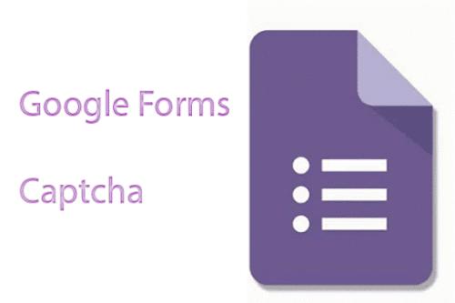 CAPTCHA for Google Forms