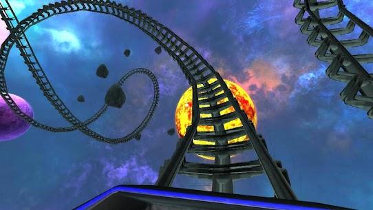 Intergalactic Space Virtual Reality Roller Coaster 5