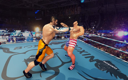 Royal Wrestling Cage: Sumo Fighting Game 1.0 screenshots 2