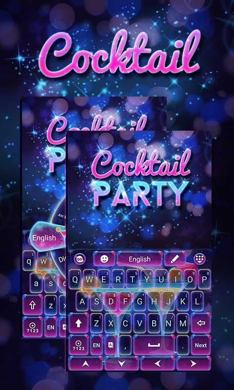 Cocktail-Party-Go-Keyboard 7
