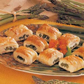 Asparagus in Puff Pastry.