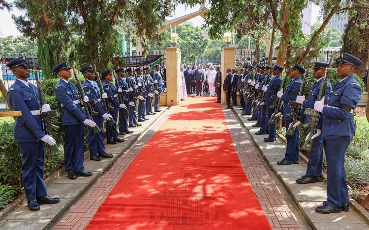 President Uhuru Kenyat., 2020.