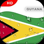 Guyana Flag 3D live wallpaper