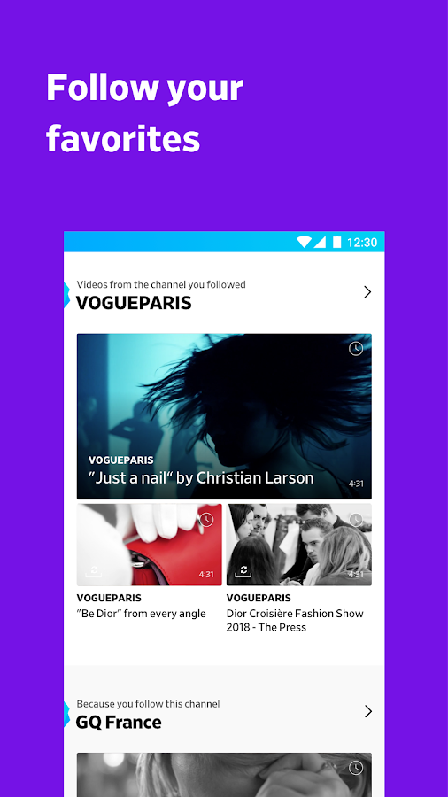 Dailymotion: Videos for now- screenshot