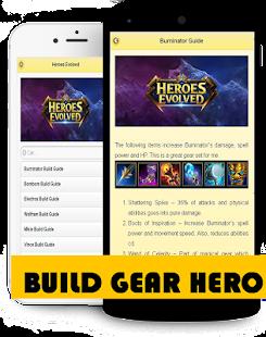 Guide For Heroes Evolved - náhled