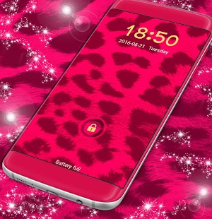 Pink Cheetah Lock - náhled