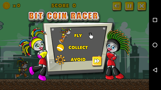 BitCoin Racer 3D Game - Collect BitCoin for Fun - náhled