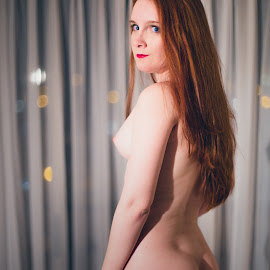 Ana Carol - April - VI by Gabriel Fox - Nudes & Boudoir Artistic Nude ( redhead, nudity, pose, ginger, artistic, full nude, model, nude, naked, body,  )