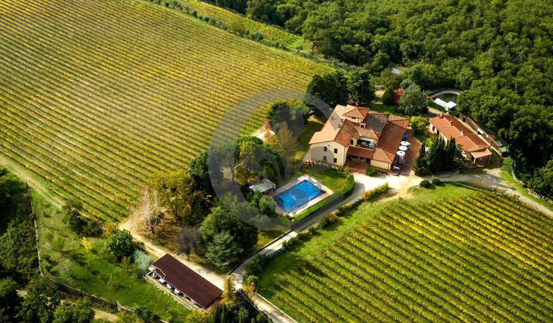 Vignoble avec piscine Gaiole in Chianti