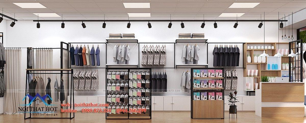 thiết kế shop thời trang uniqlo 5