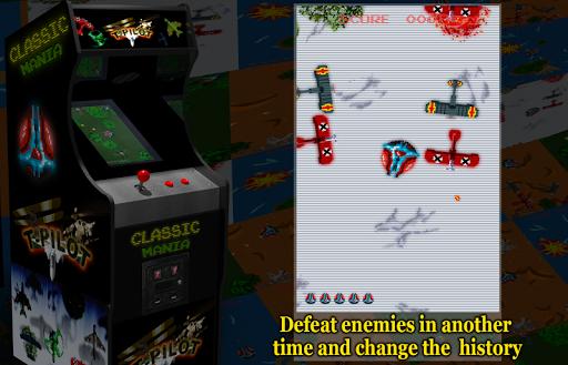 Retro Time Pilot Arcade apkpoly screenshots 4
