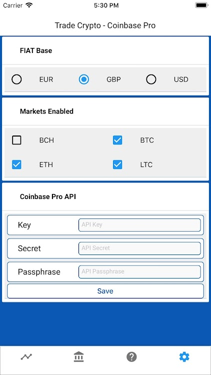 cryptocurrency price api android