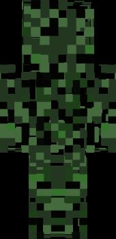 Leaves Camo Nova Skin - Camo skins fur minecraft