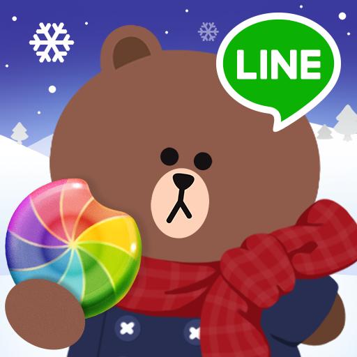 LINE POPショコラ-パティシエブラウンと一緒にポップでかわいいスイーツパズル