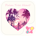 Beach Theme-Palm Tree Heart- APK