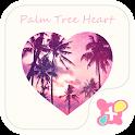 Cool Theme-Palm Tree Heart- icon