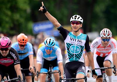 Franse sprinter pakt de overwinning in de door extreme hitte ingekorte GP Pino Cerami