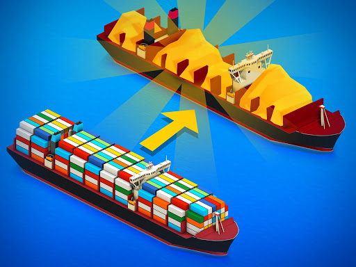 Idle Ship Tycoon: Port Manager Simulator apkmr screenshots 5