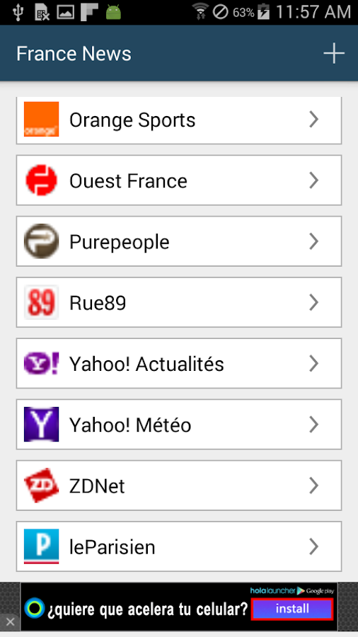 france news android apps on google play