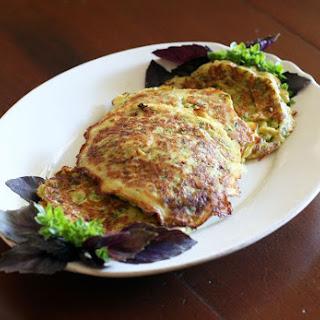 Easy Savory Zucchini Pancakes Recipe
