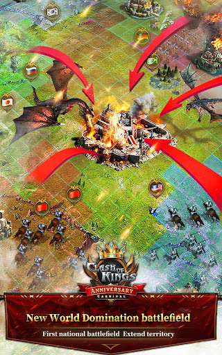 Clash of Kings : Newly Presented Knight System apktreat screenshots 2