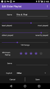 Songlytics for Spotify Screenshot
