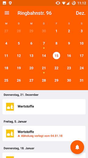 Abfall-App   BSR  screenshots 2