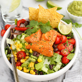 Santa Fe Tilapia Chopped Salad Bowl