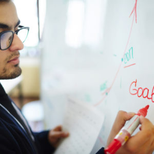 business-coach whiteboard