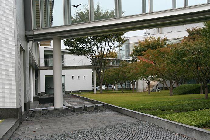 """Nhìn bên ngoài công trình như thế một khối bê tông biệt lập và thiếu """"xanh"""""""