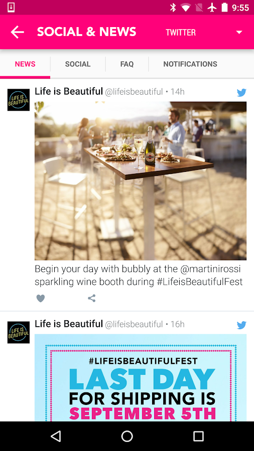 Life is Beautiful Festival- screenshot