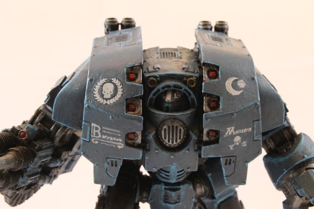 Detail shot of dreadnought