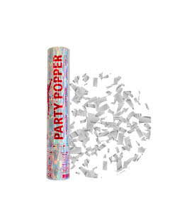 Party Popper, silver 28 cm