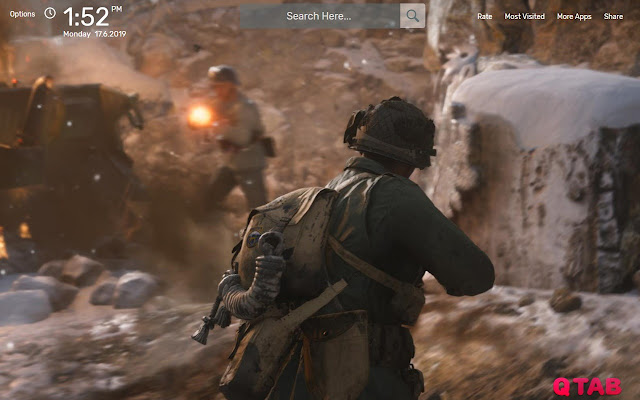 WW2 Game Wallpapers New Tab Theme