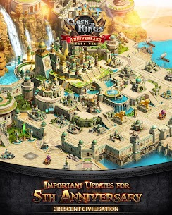 Clash of Kings : New Crescent Civilization Mod Apk Download For Android and Iphone 8