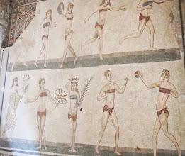 Photo: roman villa del casale piazza armerina - this is 2000 years old!