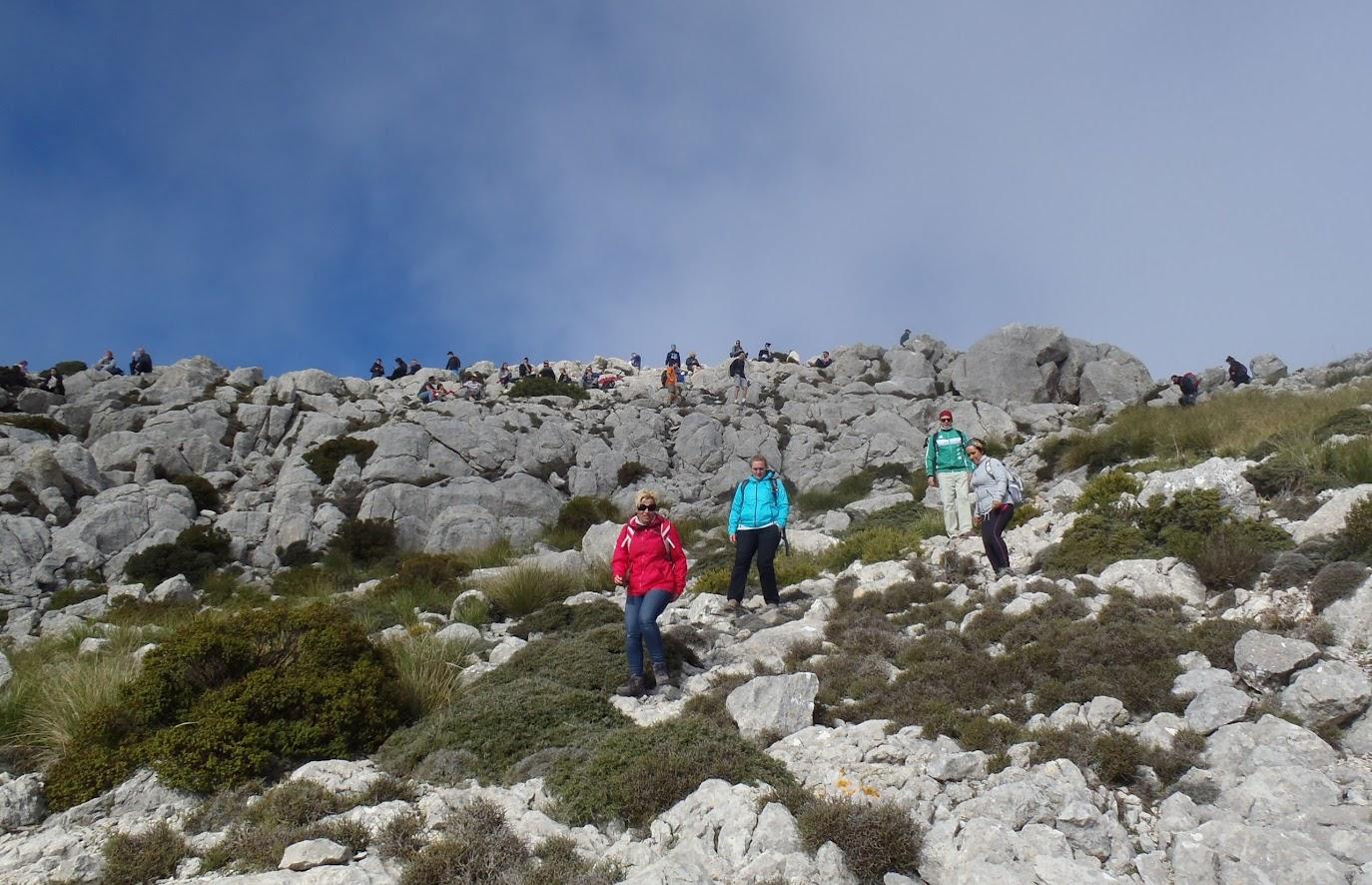 Puig de Galatzó. La montaña mágica.