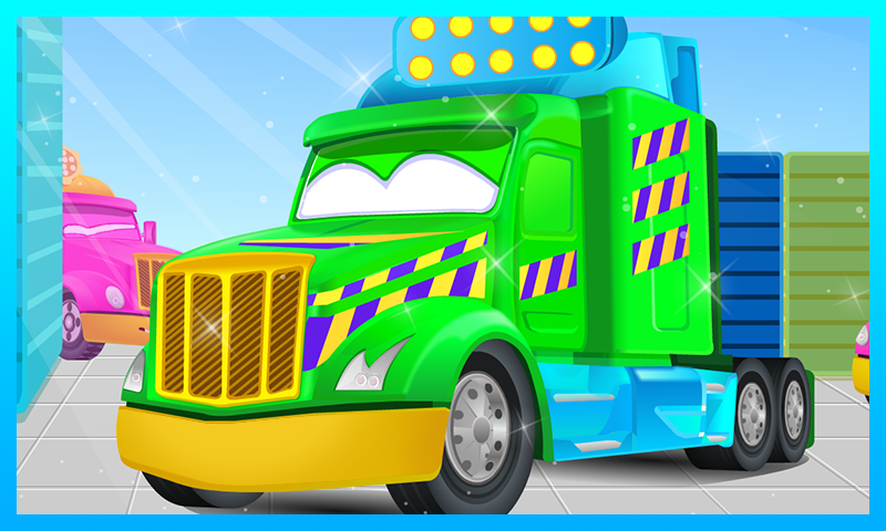 Truck Car Wash- screenshot