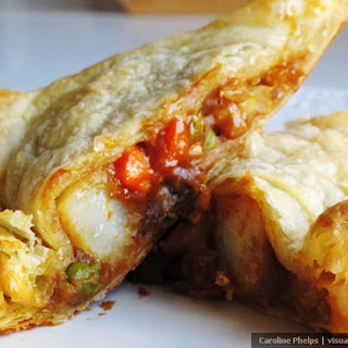 Japanese Curry Puffs - Curry Bread.