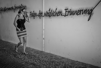 Photo: Bolzano #6 -Faden der weiblichen Erinnerung  #street #streetphotography #shootthestreet #blackandwhite #blackandwhitephotography #bw #monochrome #bolzano