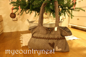 Photo: knot bag versione lana tweed