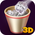 Paper Throwing Game 3D icon