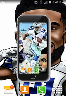 Ezekiel Elliott HD Wallpaper NFL 2018 - náhled