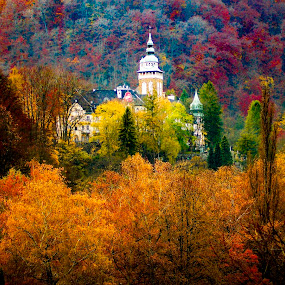 Lillafüred - Hungary by Tamas Filep (ArtoFTom) - Landscapes Forests ( hungary, colors, nice, autumn colors, artoftom, #GARYFONGDRAMATICLIGHT, #WTFBOBDAVIS,  )