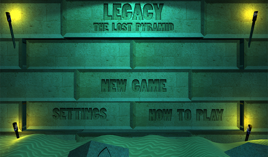 Legacy - The Lost Pyramid- screenshot thumbnail