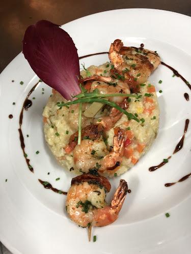 Brochette de crevettes du restaurant à Pontoise L'arbre Blanc