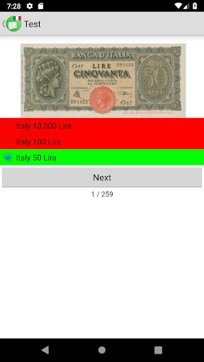 Banknotes of Italy screenshot 6